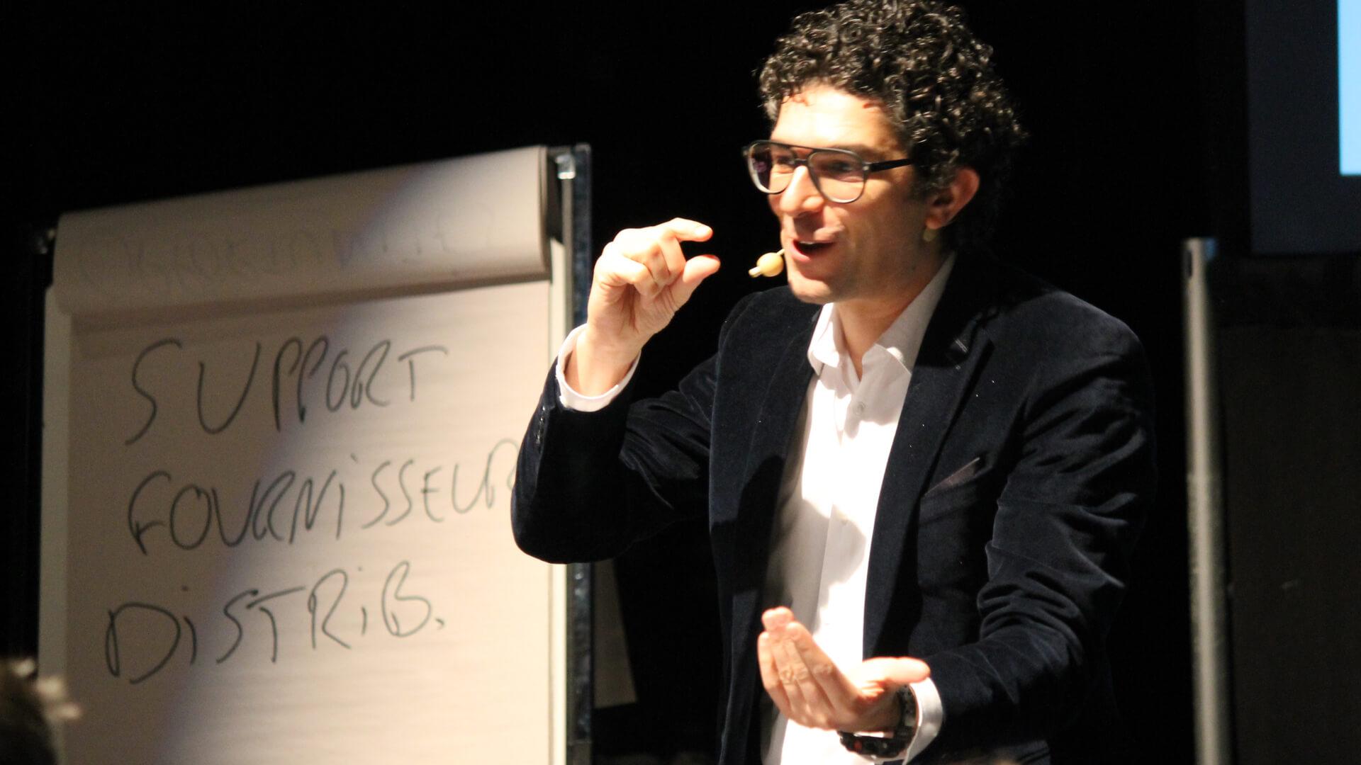 Ruben Uzan Public Speaking Trade Show Expert
